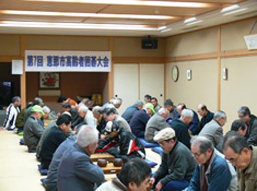 高齢者囲碁大会の開催