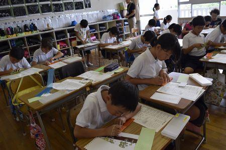 大井小学校 福祉体験学習