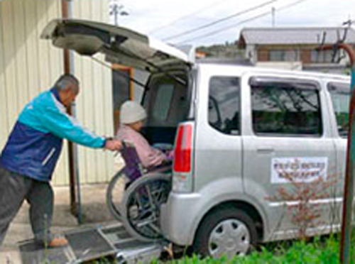 福祉有償運送 社会福祉法人恵那市社会福祉協議会