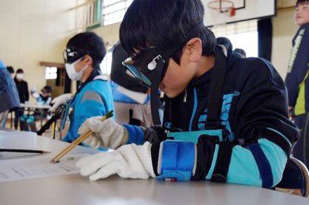 長島小学校6年生 福祉体験学習を行いました!!
