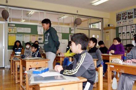 上矢作小学校6年生 福祉体験学習を行いました!!